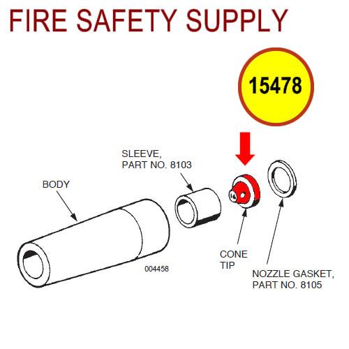 Ansul 15478 Tip, No. 24 Nozzle
