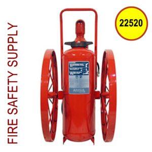 Ansul 22520 Extinguisher, Wheeled 150 lb., CR-LR-I-K-150-C