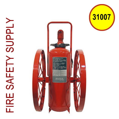Ansul 31007 Extinguisher, Wheeled 150 lb., CR-I-150-C