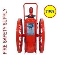 Ansul 31009 Extinguisher, Wheeled 150 lb., CR-WW-LR-I-K-150-C