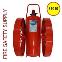 Ansul 31010 Extinguisher, Wheeled 350 lb., CR-I-350-C