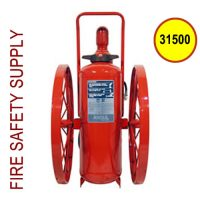 Ansul 31500 Extinguisher, Wheeled 150 lb., CR-I-K-150-C