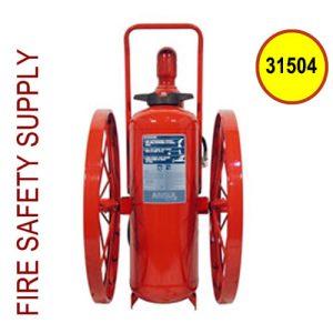 Ansul 31504 Extinguisher, Wheeled 150 lb., CR-RT-I-K-150-C