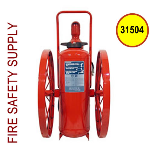 Ansul 31504 Extinguisher, Wheeled 150 lb., CR-RT-I-K-150-C