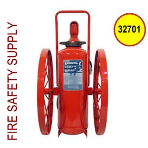 Ansul 32701 Extinguisher, Wheeled 150 lb., CR-WW-I-K-150-C