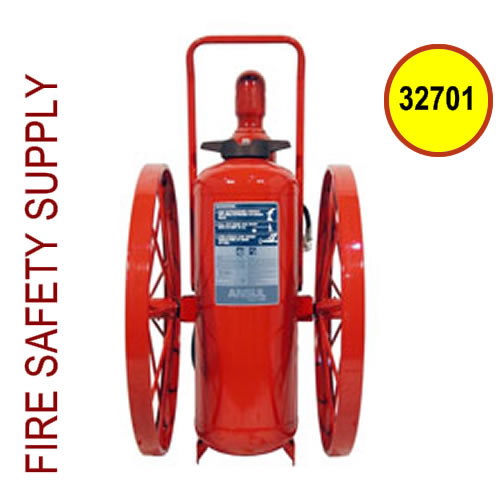 Ansul 32701 Extinguisher, Wheeled 150 lb., CR-WW-I-K-150-C