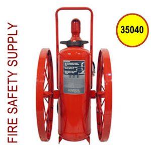Ansul 35040 Extinguisher, Wheeled 150 lb., CR-I-A-150-C-1