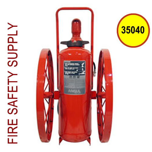 Ansul 35040 Extinguisher, Wheeled 150 lb., CR-I-A-150-C-1