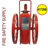 Ansul 417268 Extinguisher, Wheeled 150 lb., CR-I-LX-150-C