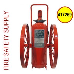 Ansul 417269 Extinguisher, Wheeled 150 lb., CR-MX-150-C