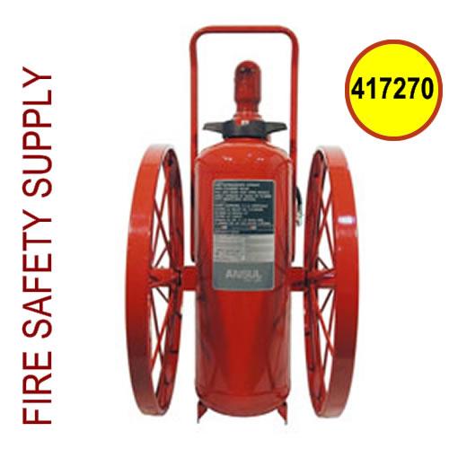 Ansul 417270 Extinguisher, Wheeled 150 lb., CR-I-MET-L-KYL-150-C