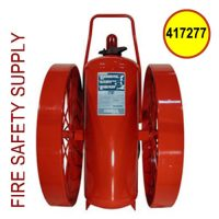 Ansul 417277 Extinguisher, Wheeled 350 lb., CR-I-LX-350-C
