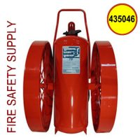Ansul 435046 Extinguisher, Wheeled 350 lb., CR-I-A-350-C-1