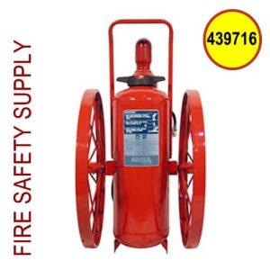 Ansul 439716 Extinguisher, Wheeled 150 lb., CR-I-K-150-C(Stock-No options)