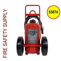 Ansul 53874 Extinguisher, Wheeled 150 lb., CR-I-K-150-D