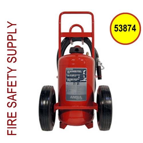 Ansul 53874 Extinguisher, Wheeled 150 lb., CR-I-K-150-D