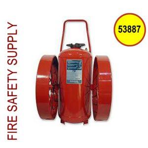 Ansul 53887 Extinguisher, Wheeled 350 lb., CR-I-K-350-D
