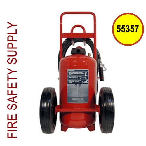 Ansul 55357 Extinguisher, Wheeled 150 lb., CR-LR-I-K-150-D