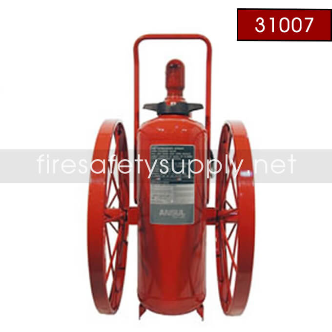 Ansul 31007 Extinguisher, Wheeled 150 lb., CR-I-150-C