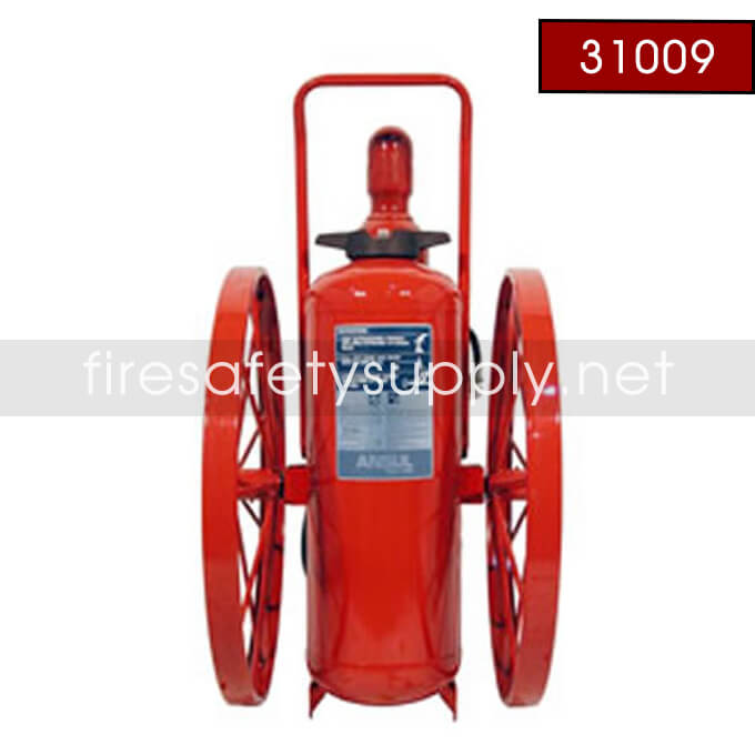 Ansul 31009 Extinguisher, Wheeled 150 lb., CR-WW-LR-I-K-150-C