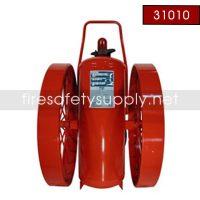 Ansul 31010 Extinguisher, Wheeled 350 lb., CR-I-350-C