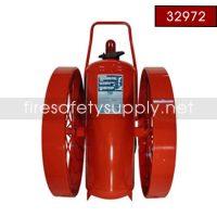 Ansul 32972 Extinguisher, Wheeled 350 lb., CR-I-LR-K-350-C