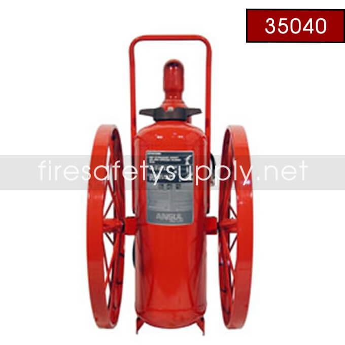 pAnsul 35040 Extinguisher, Wheeled 150 lb., CR-I-A-150-C-1