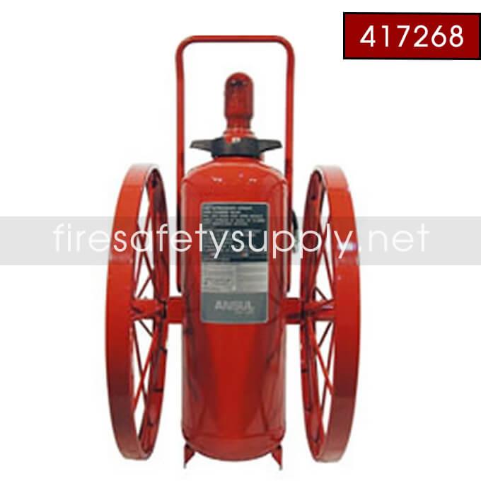 Ansul 417268 Extinguisher, Wheeled 150 lb., CR-I-LX-150-C