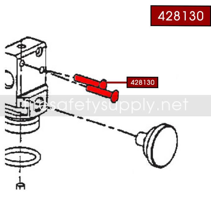 Ansul 428130 Rivet, Operating Lever, A02