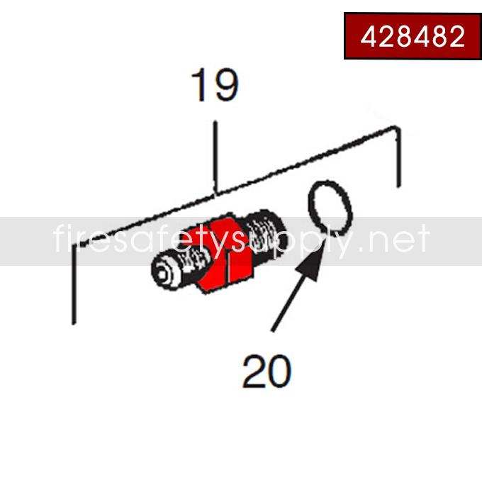 Ansul 428482 Lever, Operating
