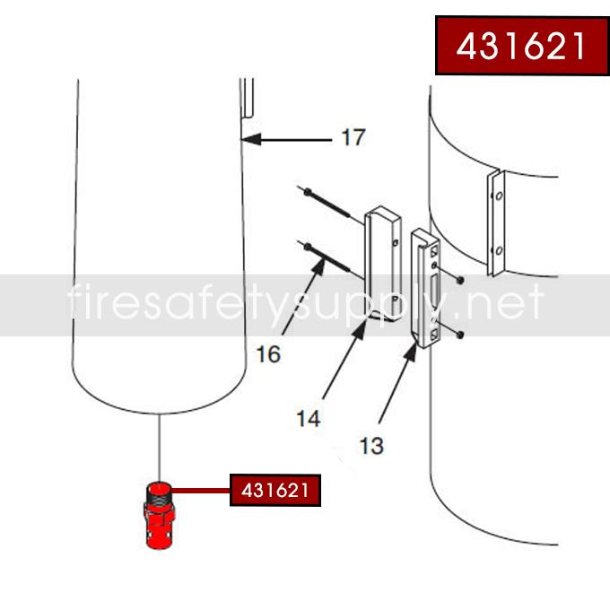 Ansul 431621 Nozzle Orifice