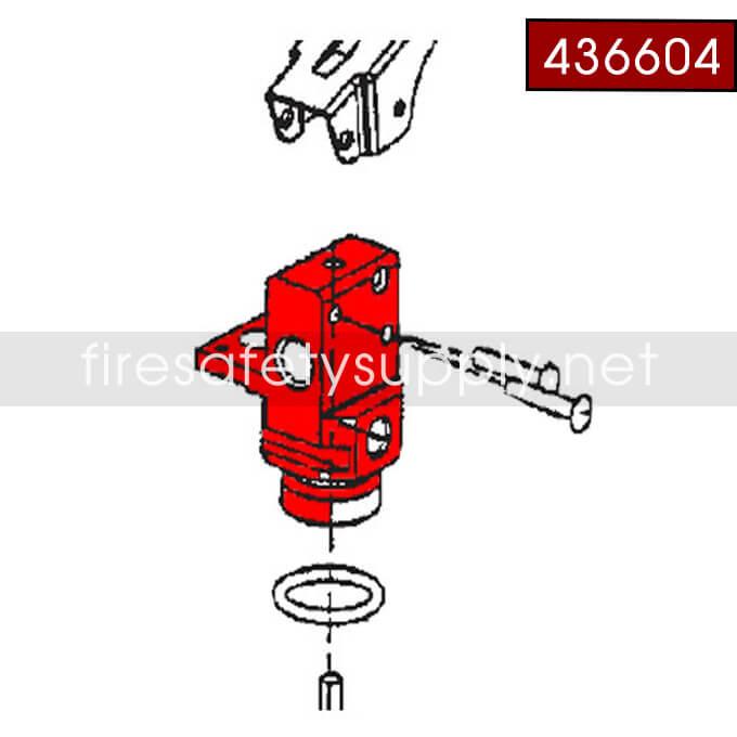 Ansul 436604 Valve Body Assembly, A02S