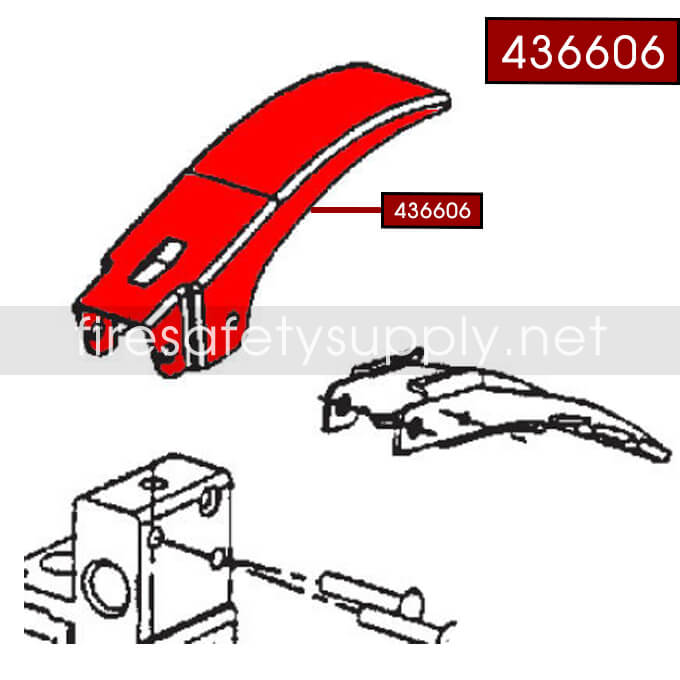 Ansul 436606 Lever, A02S (Aluminum)