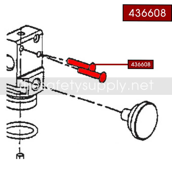 Ansul 436608 Rivet, A02S