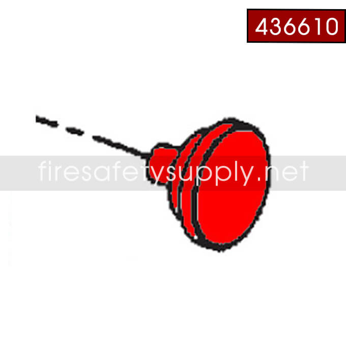 Ansul 436610 Gauge, 125 PSI, A02S