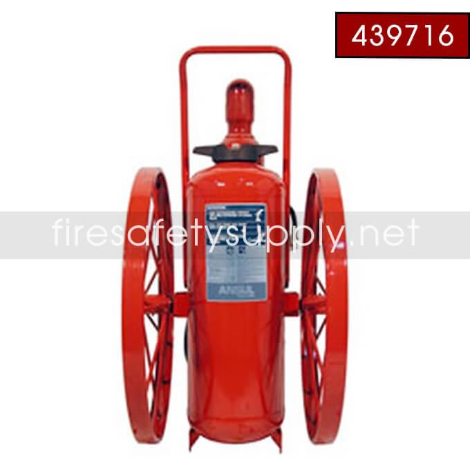 Ansul 439716 Extinguisher, Wheeled 150 lb., CR-I-K-150-C