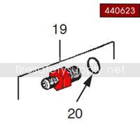 Ansul 440623 Adaptor, Recharge Combination