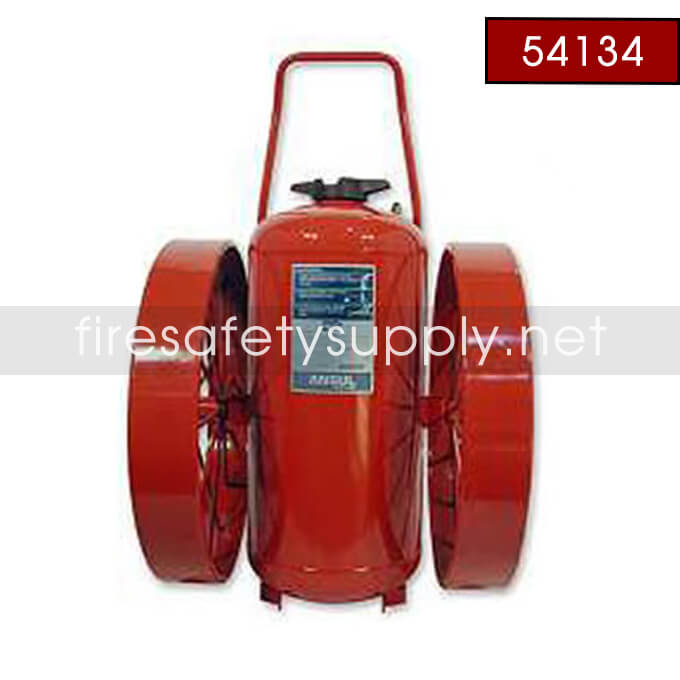 Ansul 54134 Extinguisher, Wheeled 350 lb., CR-LR-I-K-350-D