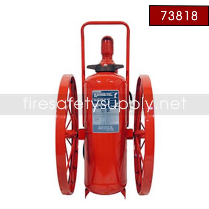 Ansul 73818 Extinguisher, Wheeled 150 lb., XM-CR-RT-LR-I-K-150-C
