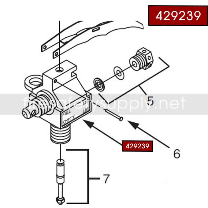 Ansul 429239 Sentry Valve Assembly