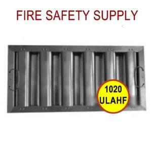 1020ULAHF 10 Inch x 20 Inch x 2 Inch Kleen Gard Aluminum Hood Filter (Riveted / Smooth Baffles)