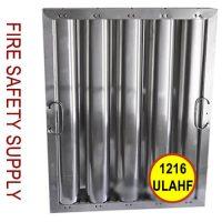 2016ULAHF 20 Inch x 16 Inch x 2 Inch Kleen Gard Aluminum Hood Filter (Riveted / Smooth Baffles)