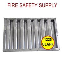 1625ULAH 16 Inch x 25 Inch x 2 Inch Kleen Gard Aluminum Hood Filter (Riveted / Smooth Baffles)