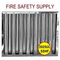 2025ULSSHF 20 Inch x 25 Inch x 2 Inch Kleen Gard Stainless Steel Hood