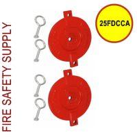 25FDCCA - FDC Cap 2.5 inch Aluminum