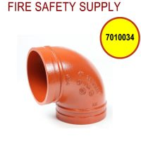 7010034 - GROOVED 90 3 Inch ELBOW SHORT (202)