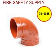 7010035 - Ductile Iron construction. Non-lead orange paint Conforms to ASTM A536 UL listed, FM Approved
