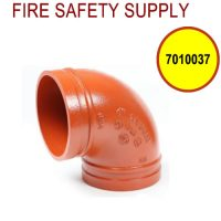 """7010037 - GROOVED 90 6"""" ELBOW SHORT (202)"""