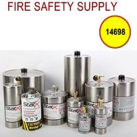 14698 - Recessed stainless steel open cup