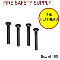 316FLATHEAD - 3/16 Inch x 2 Inch Flat Head Screws